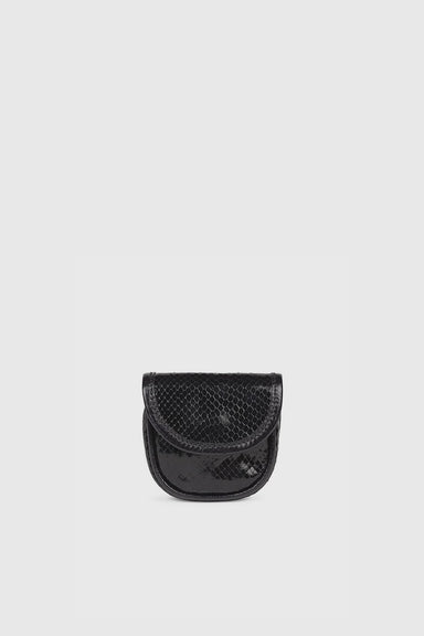 Julius Leather Pouch - Black