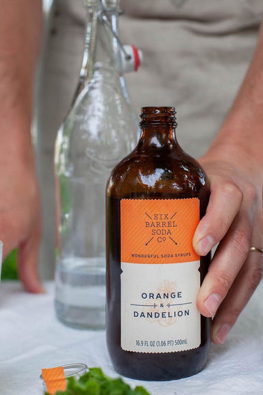 Orange & Dandelion Soda Syrup 500ml