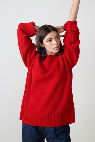 Hillary Sweater - Red