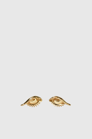 Protéger Stud Earrings - Gold Plated