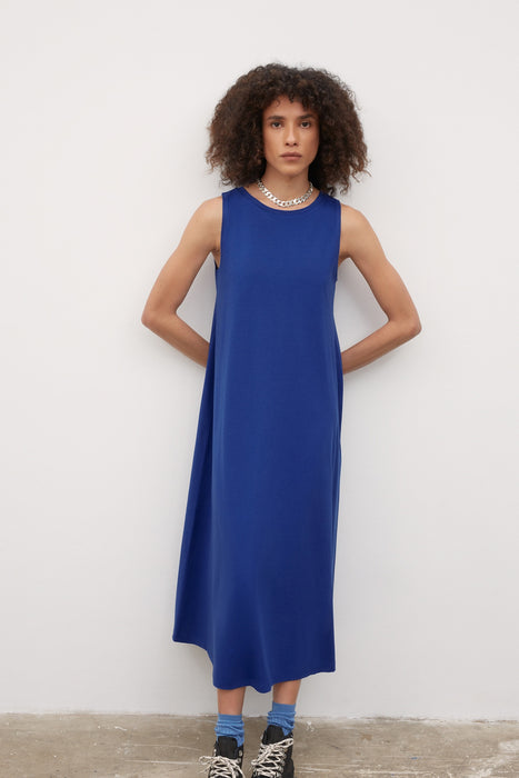 Tank Swing Dress - Bright Blue