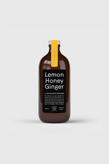Lemon Honey Ginger Syrup 500mL