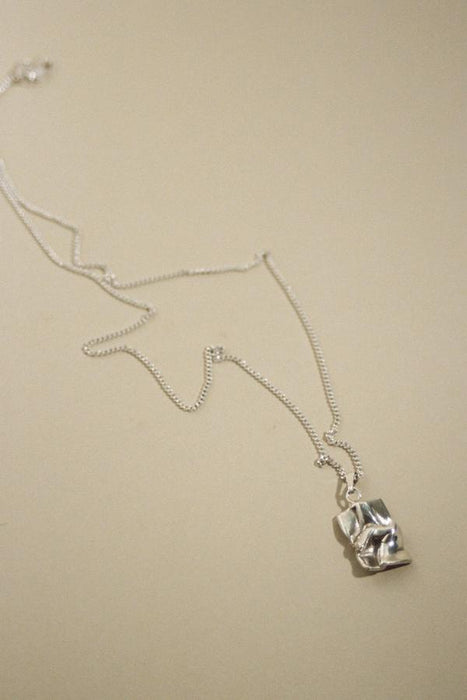 Love Letter Necklace - Silver