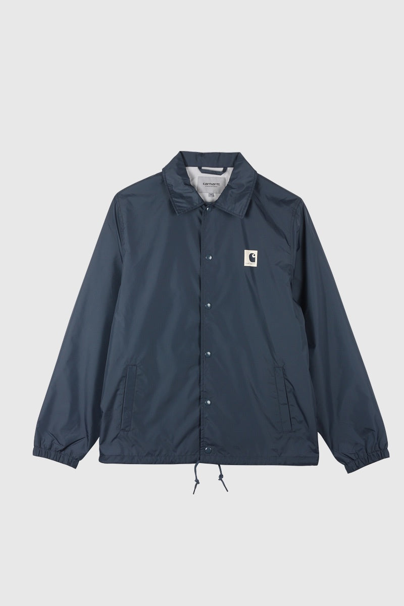 Sports Coach Jacket - Stone Blue