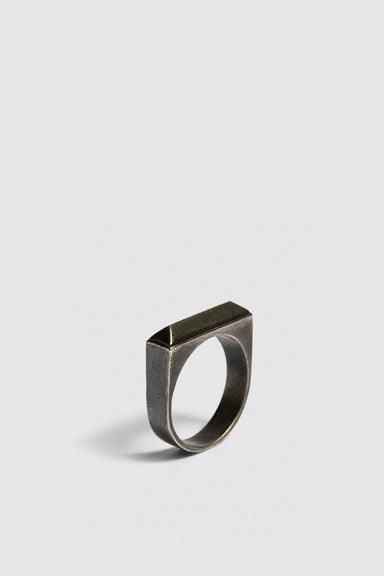 Fifth Ring - Oxidised Silver