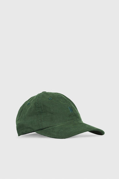 Baby Corduroy Sports Cap - Dartmouth Green