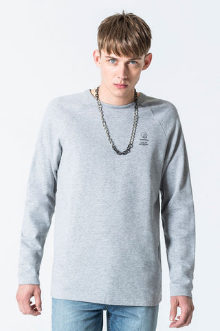 Rules 2 Sweat - Grey Melange