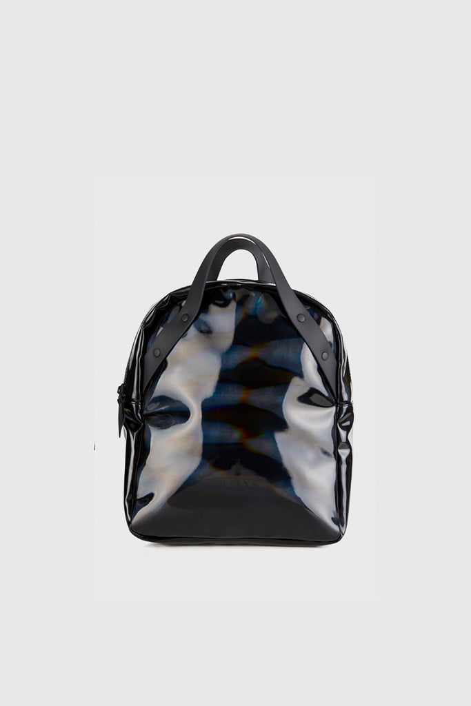 3c81b8928 Rains Backpack Go - Holographic Black | Infinite Definite | NZ | Infinite  Definite