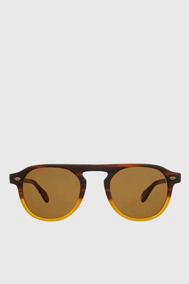 Harding Sun 47 - Matte Dark Caramel Gradient / Pure Brown