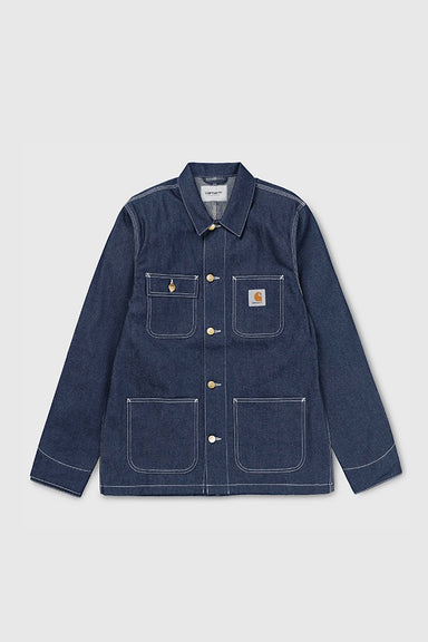Michigan Denim Chore Coat - Blue Rigid