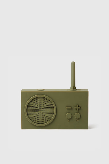 Tykho 3 FM Radio & Bluetooth Speaker - Khaki