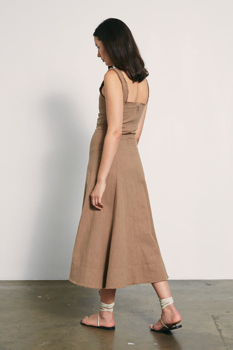Anouk Dress - Taupe