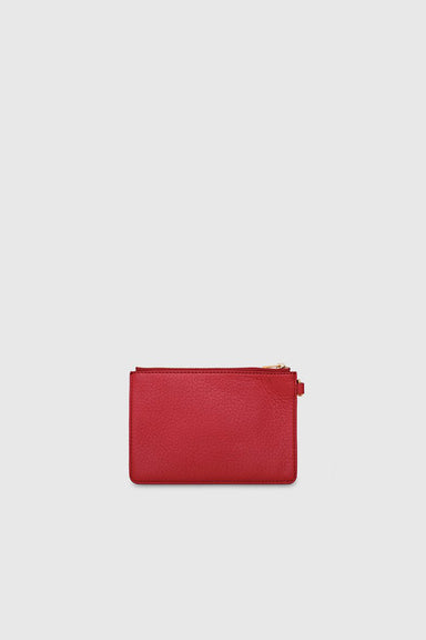 1/8 Amy Clutch - Pompeian Red
