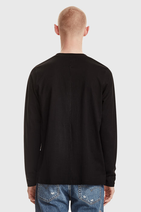 Men's Standard LS Tee - Black