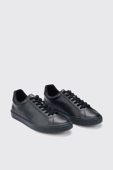Esplar Low Leather - Full Black
