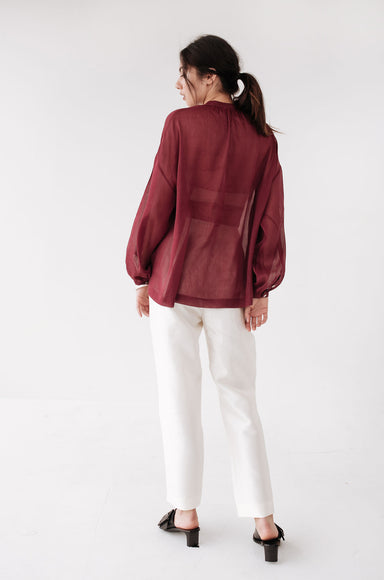 Hunter Shirt - Bordeaux