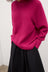 Henri Roll Neck Jumper - Magenta