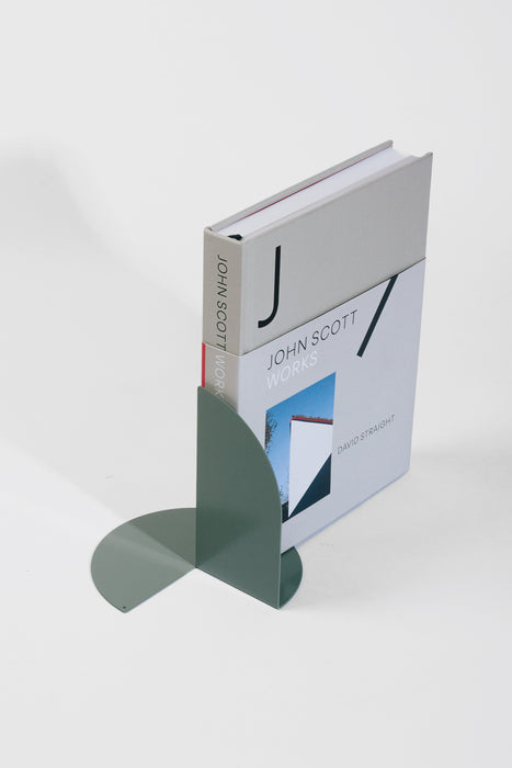 Folded Bookend Pair - Sage Green