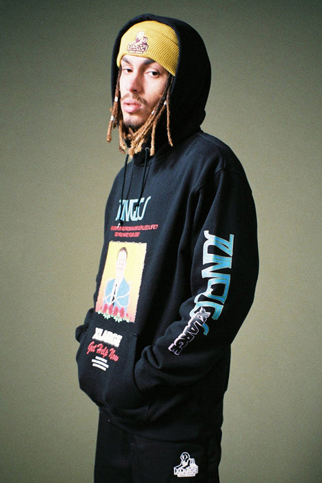Do You Fit This Picture Hoodie - Black
