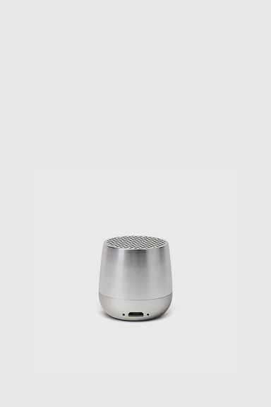 Mino Bluetooth Speaker - Polished Aluminum