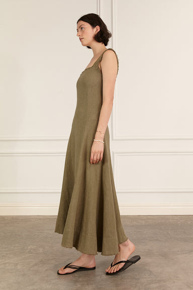 Anouk Dress - Khaki