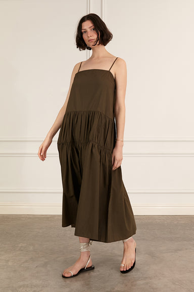 Vanessa Dress - Khaki