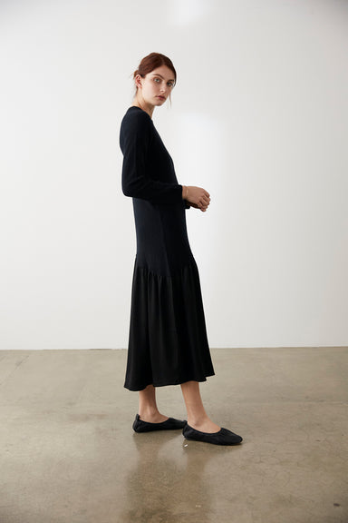 Palm Dress - Black