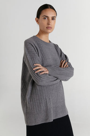 Jo Jumper - Pewter