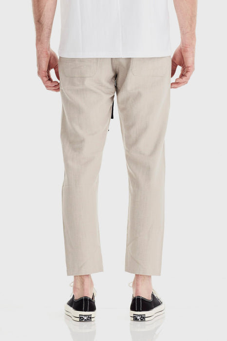 Relaxed Linen Pant - Natural