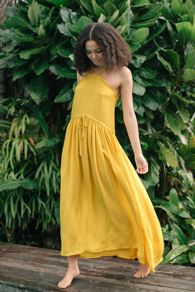 Bliss Dress - Sunflower Silk