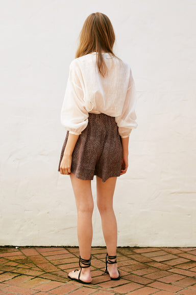 Edo Pepper Shorts - Nutmeg