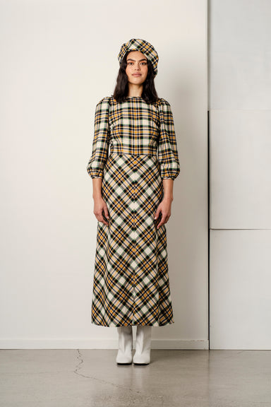 Robin Dress - Plaid Flannel