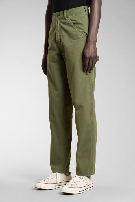 80s Painter Pant - Olive Overdye
