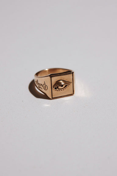 Protéger Ring - Gold Plated