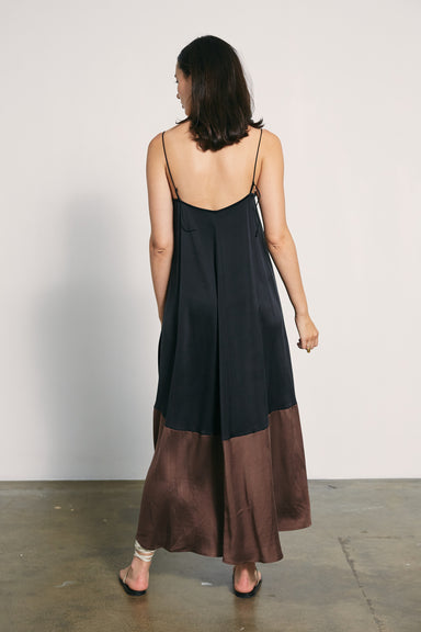 Sylvie Dress - Black / Chocolate