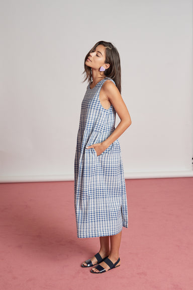 Edition Dress - Blue Check