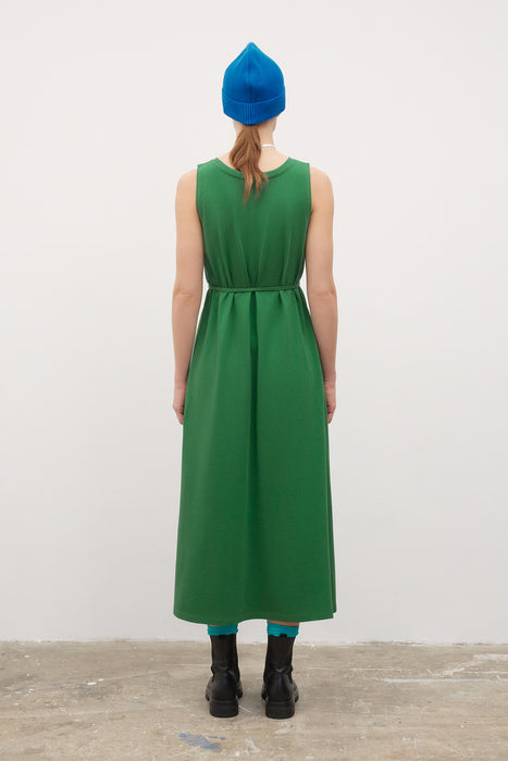 Tank Swing Dress - Evergreen