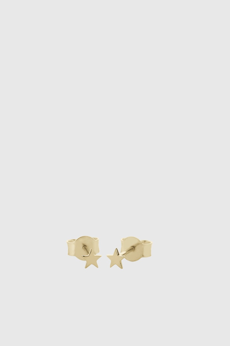 Micro Star Studs - Gold Plated