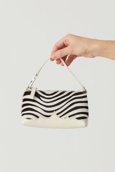 Milo Leather Bag - Off White