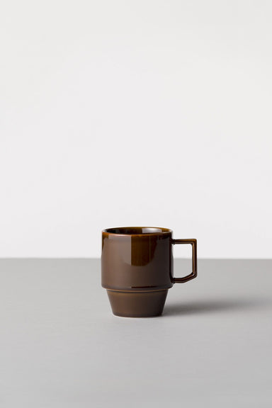 Block Mug Big - Brown