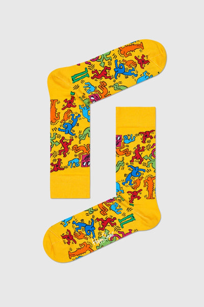 Keith Haring - All Over Sock