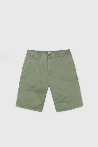 Ruck Single Knee Short - Dollar Green Stone Washed