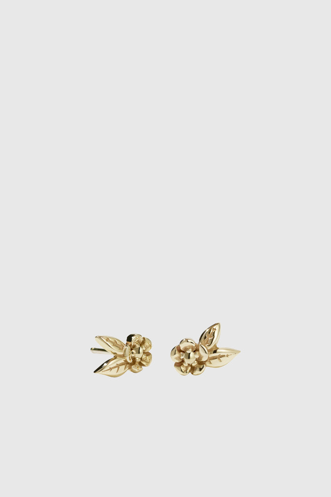 Alba Stud Earrings - Gold Plated