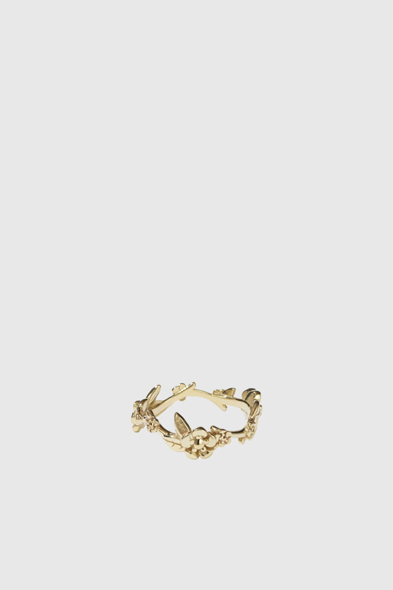 Alba Vine Ring - Gold Plated