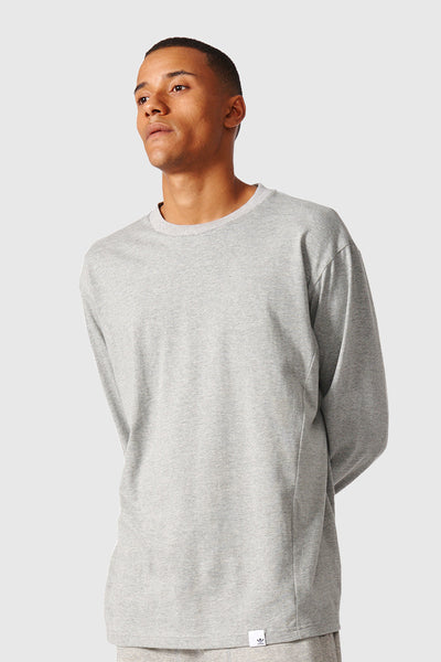 XBYO L/S Tee - Medium Grey Heather