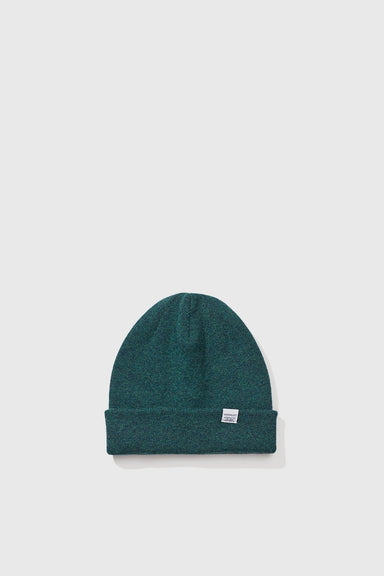 Light Wool Beanie - Dartmouth Green