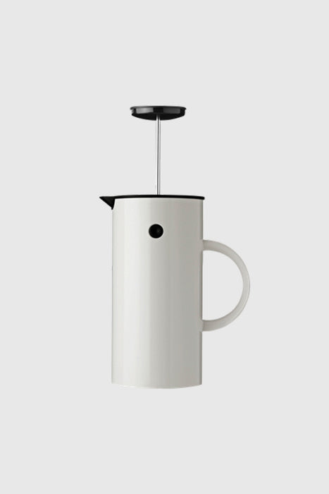 EM Press Coffee Maker - White