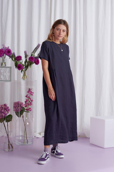 Faithless Dress - Navy