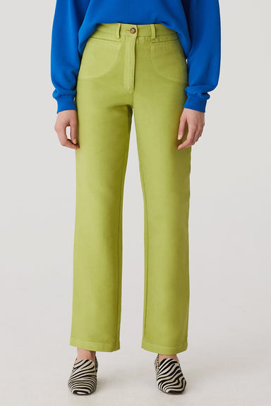 Pilar Pants - Lime Green