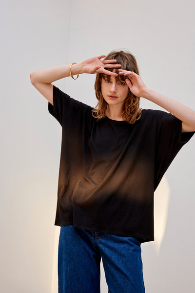 Building Block Oversized Tee - Black
